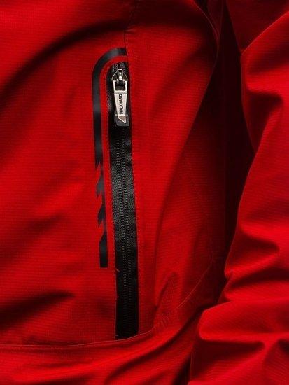 Kurtka męska przejściowa czerwona Denley 5505