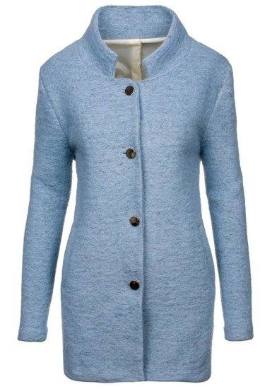 Płaszcz damski błękitny Denley 1950