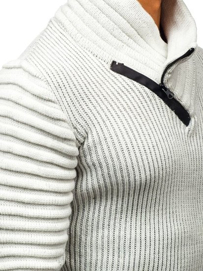 Sweter męski ecru Denley 20002