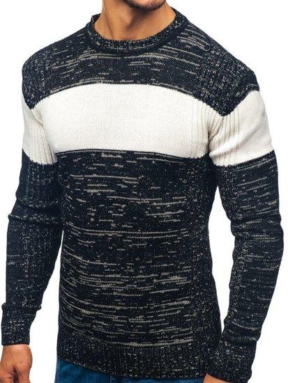 Sweter męski czarny Denley 82901