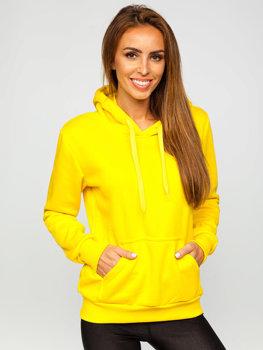 Bluza damska jasnożółta kangurka Denley W02