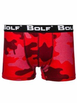Bokserki męskie moro-czerwone Bolf 0953-2