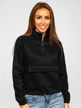Czarna bluza damska Denley KSW2032