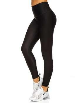 Czarne legginsy damskie Denley YW06010