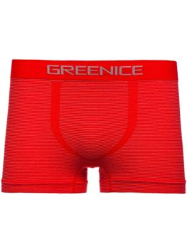 Czerwone bokserki męskie Denley PL7648