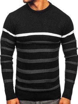 Sweter męski czarny Denley 1951