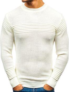 Sweter męski ecru Denley 6004