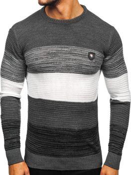Sweter męski grafitowy Denley 4000