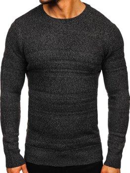 Sweter męski grafitowy Denley H1926