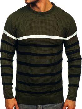 Sweter męski zielony Denley 1951