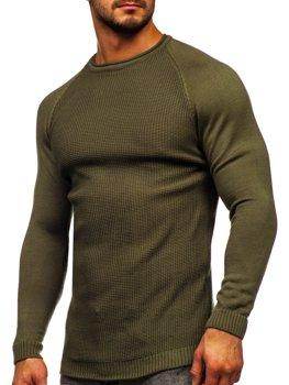 Zielony sweter męski Denley 1009