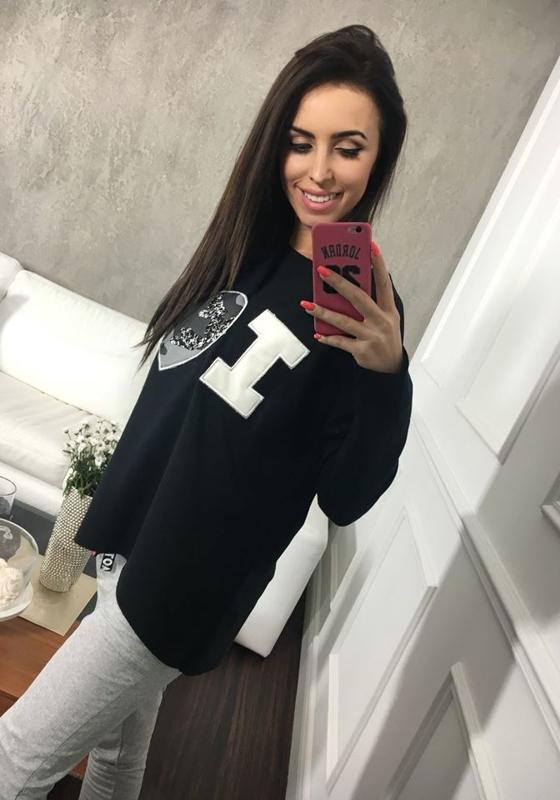 Bluza damska czarna Denley 03