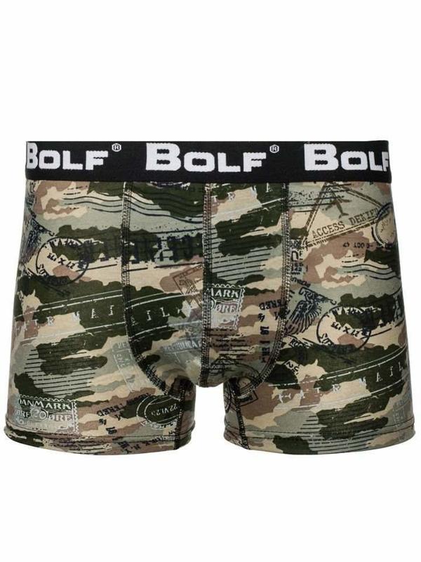 Bokserki męskie moro-khaki Bolf 0953-5