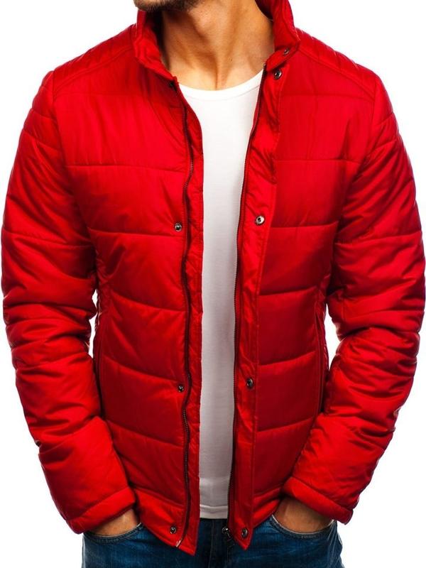 Kurtka męska zimowa czerwona Denley 83338