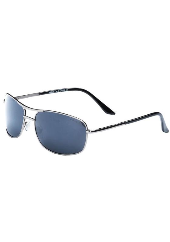 Okulary przeciwsłoneczne grafitowe Denley P201B