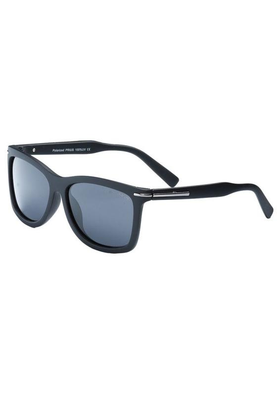 Okulary przeciwsłoneczne polaryzacyjne czarne Denley PLS226B