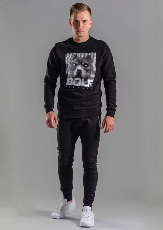 Stylizacja nr 55 - bluza z nadrukiem. spodnie baggy