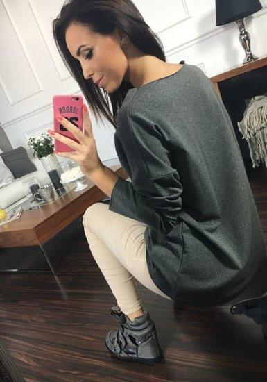 Bluza damska antracytowa Denley 03