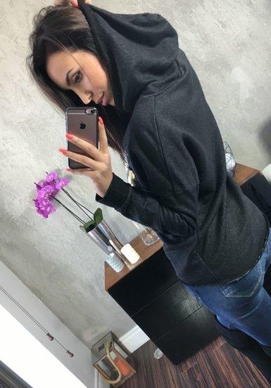 Bluza damska czarna Denley 6712