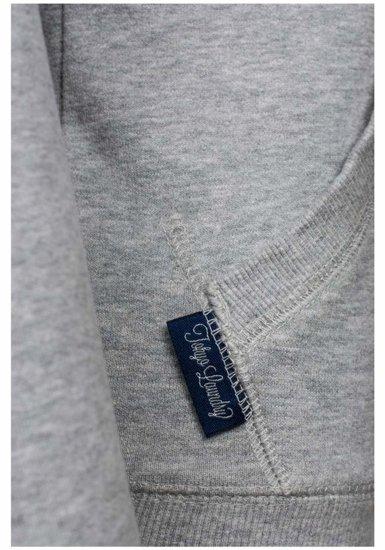 Bluza damska szara Denley 6995