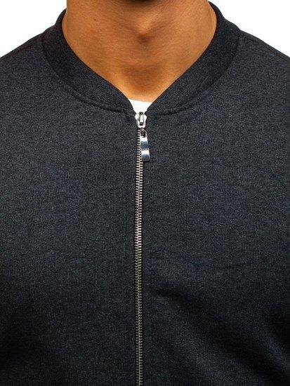 Bluza męska bez kaptura antracytowa Bolf 43S-B