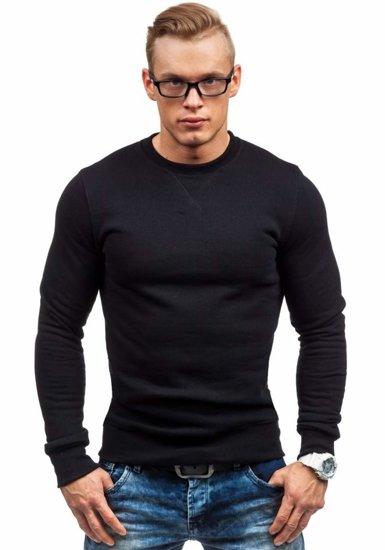 Bluza męska bez kaptura czarna Bolf 44S