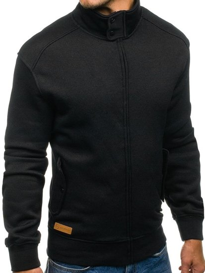 Bluza męska bez kaptura czarna Denley 1900