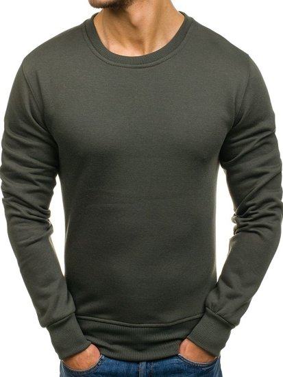 Bluza męska bez kaptura grafitowa Bolf BO-01