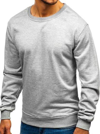 Bluza męska bez kaptura szara Denley 22003