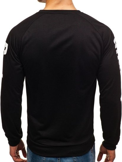 Bluza męska bez kaptura z nadrukiem multikolor Denley HY201B