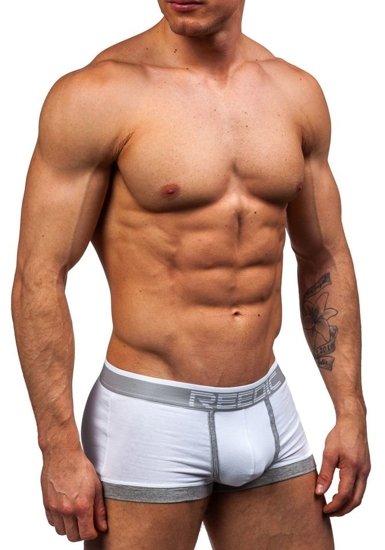 Bokserki męskie białe Denley G510