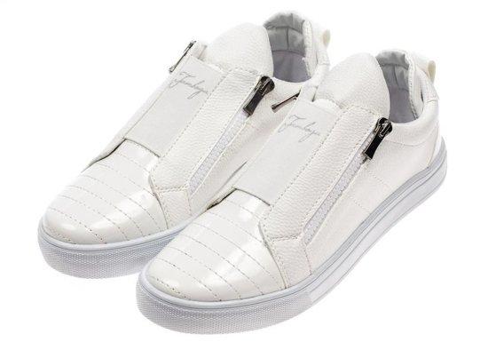 Buty męskie białe Denley 1506