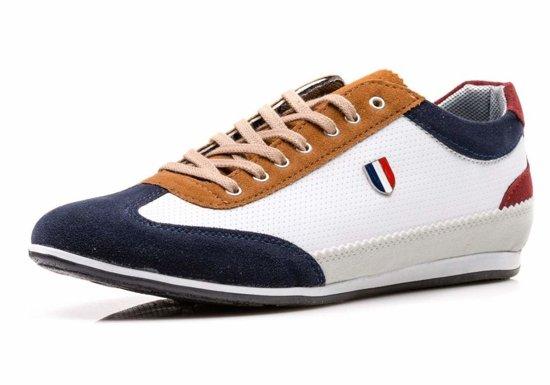 Buty męskie białe Denley 711