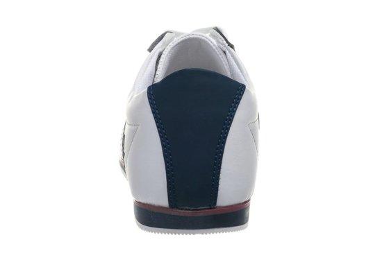 Buty męskie biało-granatowe Denley 602
