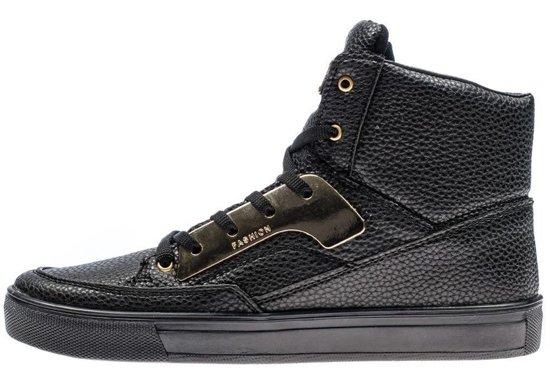 Buty męskie czarne Denley 3033
