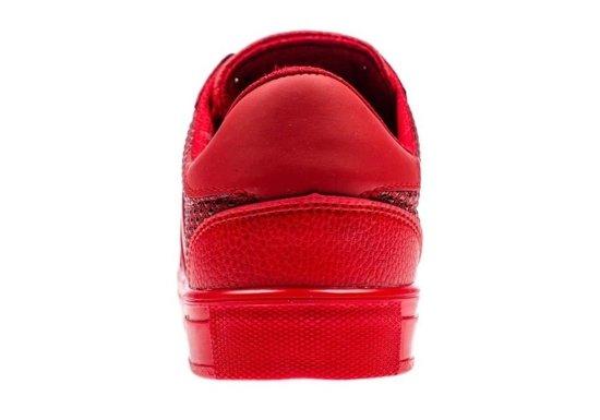 Buty męskie czerwone Denley 3026