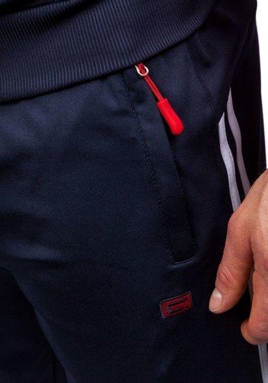 Dres męski granatowo-czerwony Denley 930
