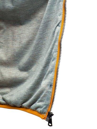 Kamizelka męska pikowana żółta Denley 1253
