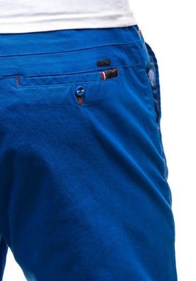 Krótkie spodenki męskie niebieskie Denley 202