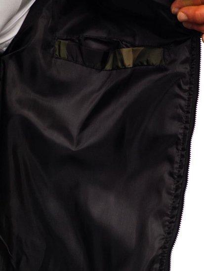 Kurtka męska przejściowa bomberka moro-khaki Denley MY01