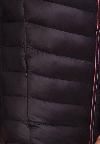 Kurtka męska przejściowa czarna Denley 3082