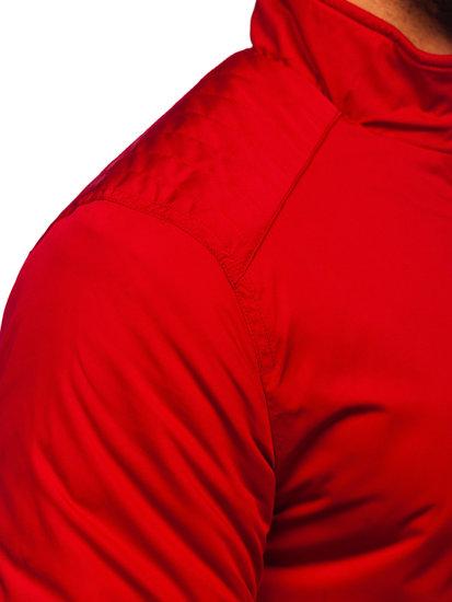 Kurtka męska przejściowa czerwona Denley 1907