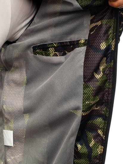 Kurtka męska przejściowa moro-zielona Denley 8007