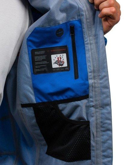 Kurtka męska przejściowa niebieska Denley 5505