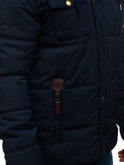 Kurtka męska zimowa granatowa Denley 1665