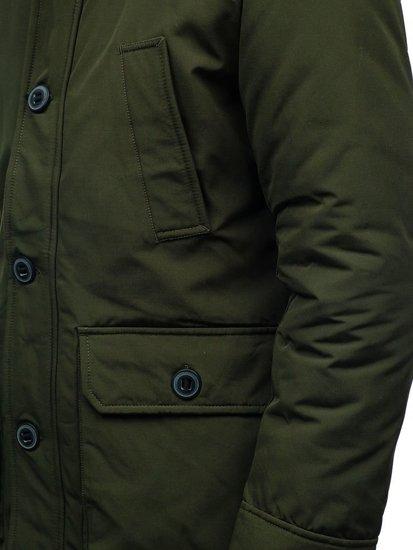 Kurtka męska zimowa zielona Denley 99126