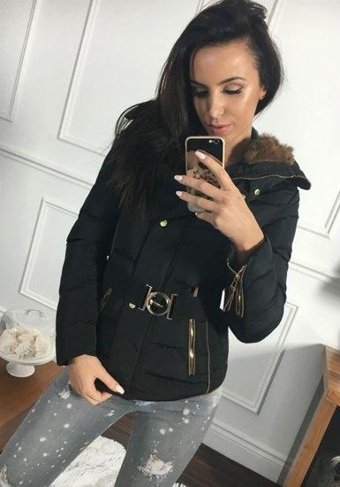 Kurtka zimowa damska czarna Denley 11