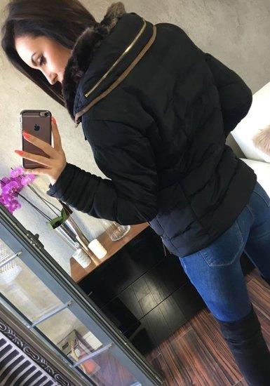 Kurtka zimowa damska czarna Denley 16
