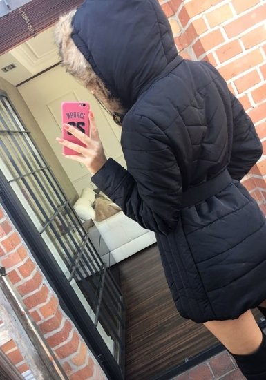 Kurtka zimowa damska czarna Denley 19