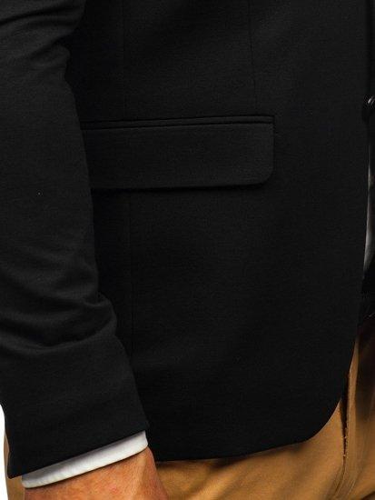 Marynarka męska elegancka czarna Denley 191060